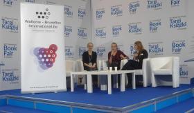 Veronika Mabardi na 22. Międzynarodowych Targach Książki w Krakowie