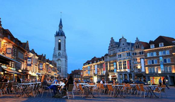 © CGT - A. Siquet - Grand Place di Tournai